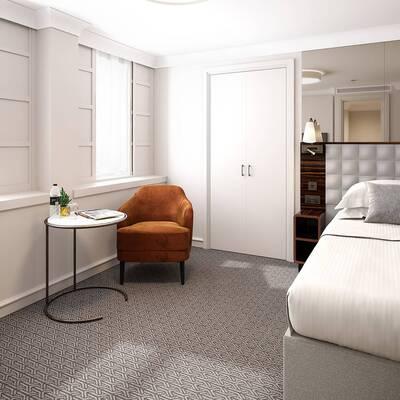 Strand Palace Superior Single Room