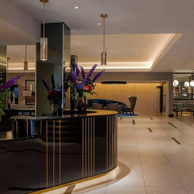Strand Palace Lobby Area