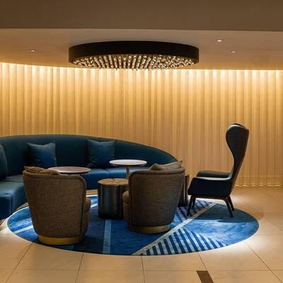 Strand Palace Lobby Seating Area